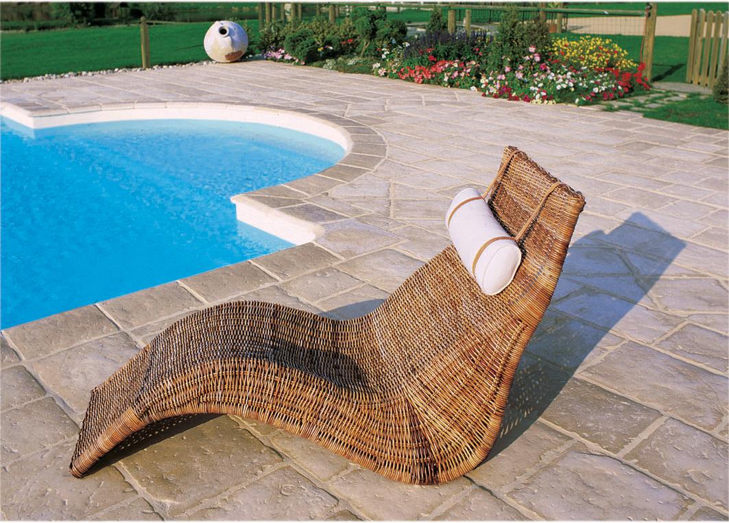 Bordi e pavimentazioni per la piscina la linea appia antica scp