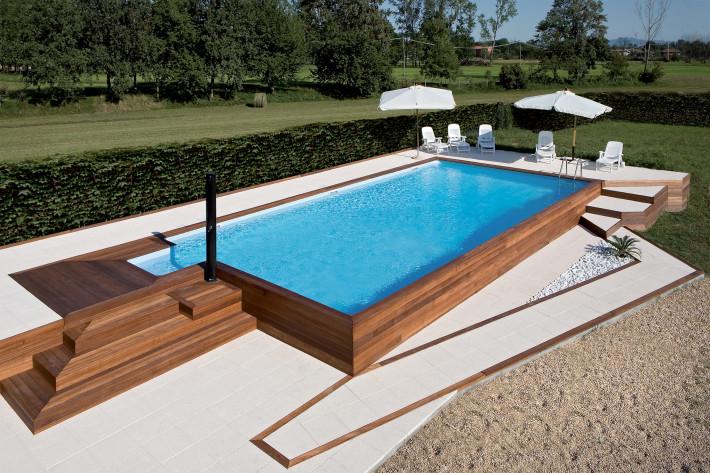 Piscine fuoriterra in legno perch s scp fidelio blog for Costo per costruire una casa piscina con bagno