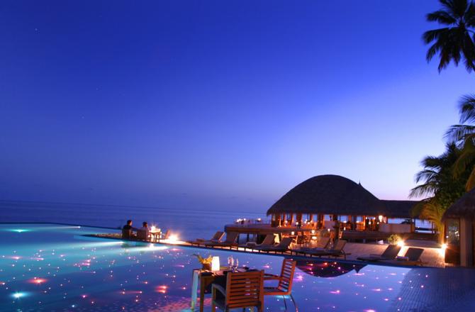 piscina stelle