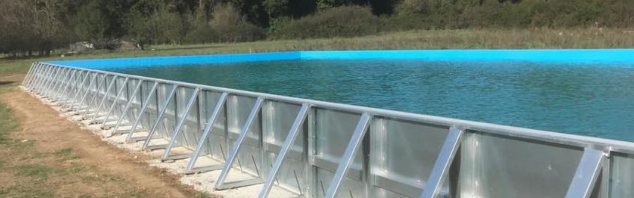 piscina in acciaio Aquaforming