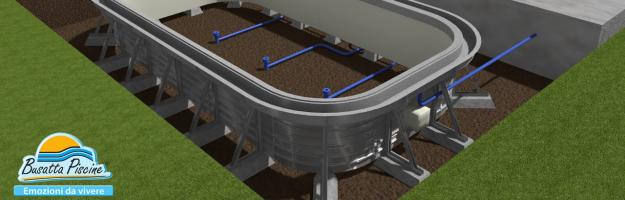 Busatta piscine piscine con struttura modulare in for Busatta piscine