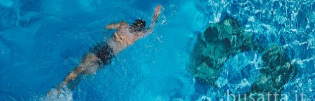 Nuoto contro corrente per piscine